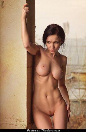 Ангелина Петрова - Yummy Ukrainian Red Hair with Yummy Bare Big Boobie (Hd Porn Photoshoot)
