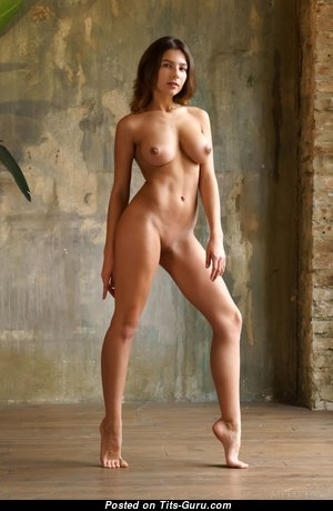 Belka - Delightful Nude Brunette (Hd 18+ Wallpaper)