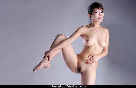 Bo Bo - Dazzling Unclothed Asian Gal (Hd Porn Pic)