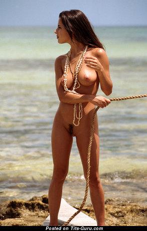 Kelly Monaco - nude hot female with medium tittes image