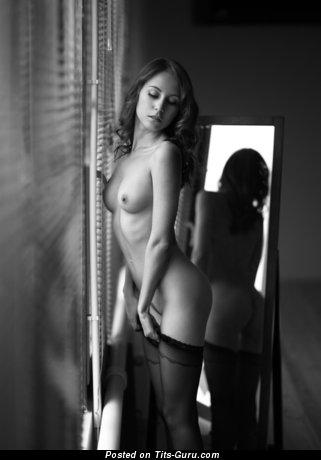 Image. Hot girl with medium natural tittes photo