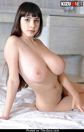 Image. Yulia Nova - sexy nude brunette with big natural boobs image
