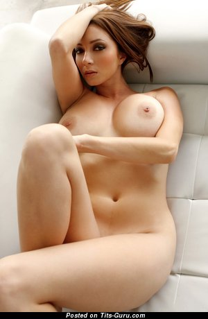 Image. Victoria - nude brunette with big natural breast pic