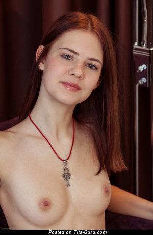 Image. Juliett Lea - nude red hair with small natural boobies photo