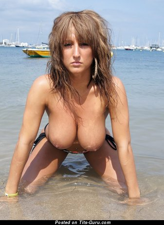 Image. Stacey Poole - amazing female with big natural boob picture