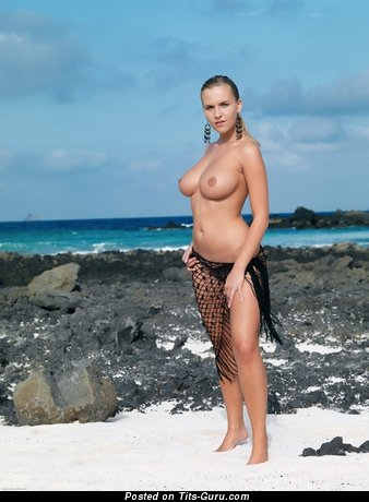Image. Naked wonderful lady with big natural tittes photo