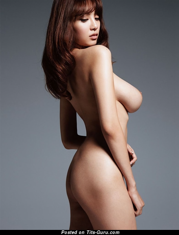 Shion Utsunomiya - topless asian brunette with big natural boob picture