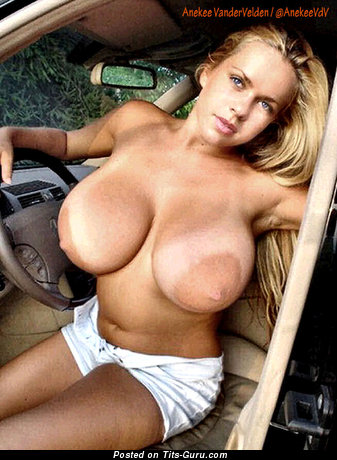 Anekee Van Der Velden - Gorgeous Dutch Blonde with Gorgeous Open Real Ddd Size Knockers (Hd Porn Photo)