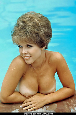 Image. Sue Williams - topless blonde with medium boobies vintage