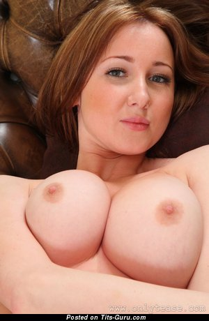 Image. Libby Smith - naked blonde with huge natural tits image