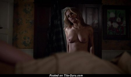 Anna Paquin - Superb Canadian Blonde with Superb Exposed Real Tittys (Hd 18+ Picture)