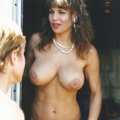 Teri Weigel - hot lady with big boobies vintage