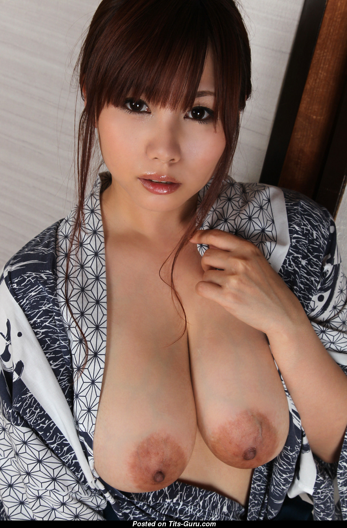 Kanon Ohzora - Asian Female With Nude Real Big Titty -1212