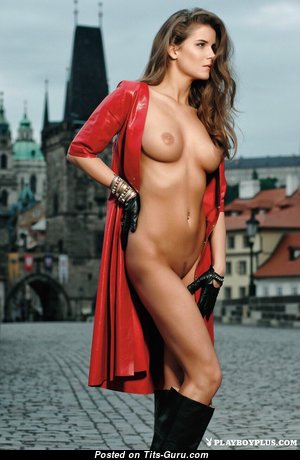 Jana Ptackova - Superb Czech Playboy Red Hair with Superb Exposed Real Hooters (Hd 18+ Picture)