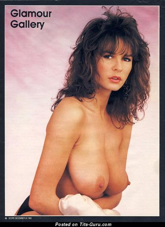 Image. Donna Ewin - naked awesome female with big boobs vintage
