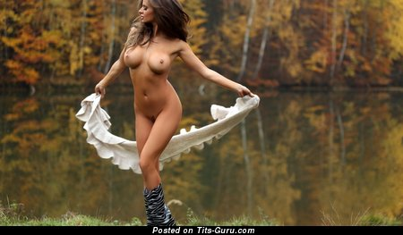 Image. Nude amazing lady with big fake tittys image