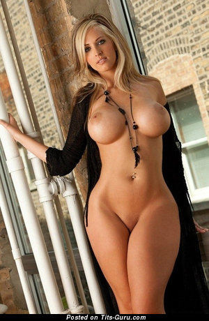 Image. Nude blonde with big boobs pic