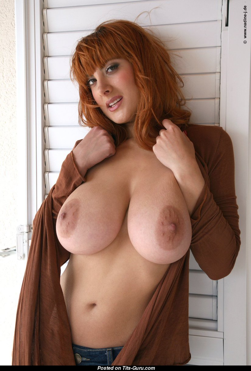 Only redhead big tits long hair question