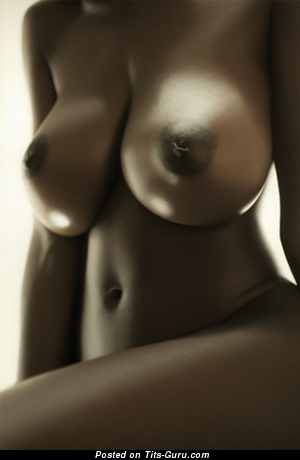 Image. Nude ebony with big boobies picture