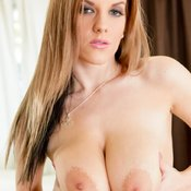 Haley Cummings - wonderful girl with big natural breast photo