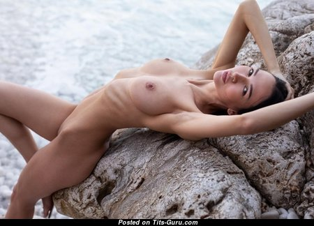 Anastasya - Beautiful Naked Blonde Babe (Hd Sexual Image)