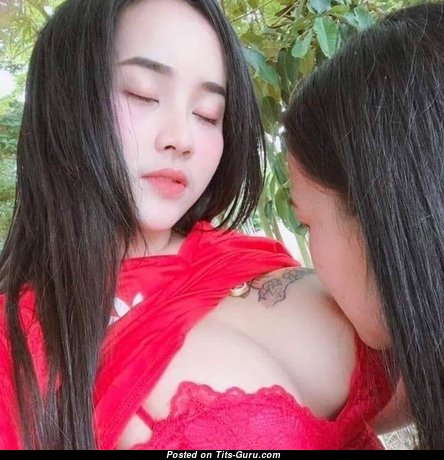 Hmong - Dazzling Naked Asian Female (Sexual Wallpaper)
