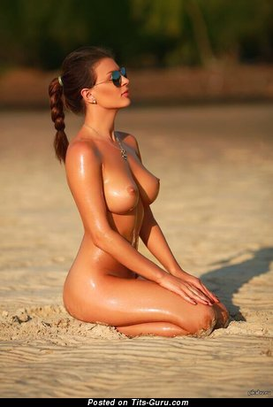 Image. Naked hot female with big natural boobies photo