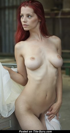 Ariel Piper Fawn - Nice Czech Red Hair Babe & Pornstar with Nice Bare Real Soft Tits & Puffy Nipples (Hd 18+ Image)