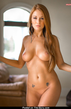 Perfect Babe with Perfect Bare Real Busts (Sex Image)
