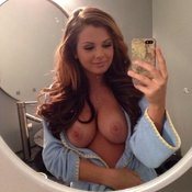 Amazing girl with big natural breast picture