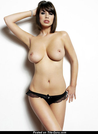 Sophie Howard - sexy naked brunette with big natural tots photo