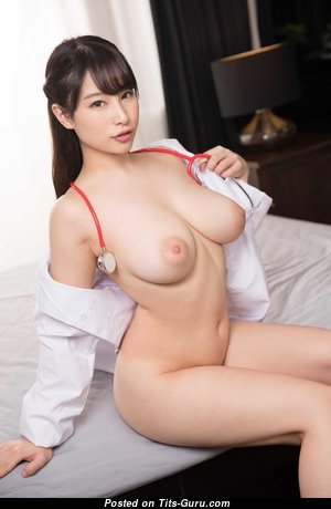 Sonoda Miku - Yummy Asian Brunette with Yummy Nude Real D Size Knockers (Hd Xxx Foto)