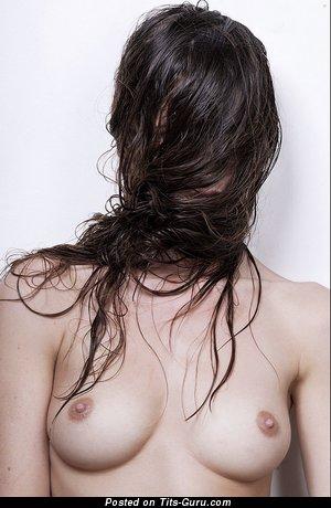 Image. Brunette photo