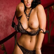 Janine Habeck - hot female with natural tittes pic