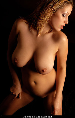 Image. Naked hot woman with big natural boobies image