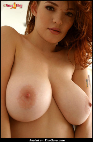Image. Danielle Riley - red hair with big boobs image