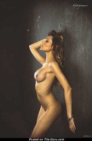 Image. Naked wonderful girl with medium tits image