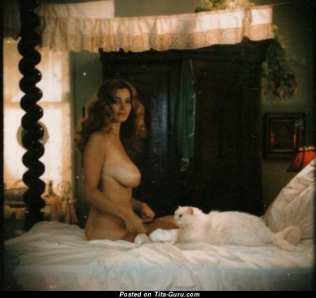 Image. Janet Lupo - nude amazing female with big natural breast vintage