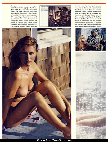James Bond - Superb Honey with Superb Defenseless Natural C Size Knockers (Vintage Hd Porn Foto)