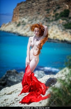 Image. Nude awesome girl with medium natural boobs picture