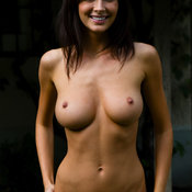 Orsi Kocsis - nice female with medium natural tittys picture
