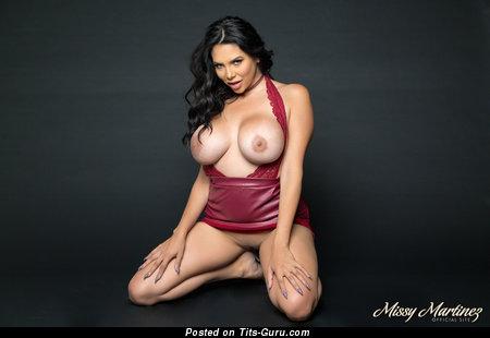 Missy Martinez - naked latina with big fake tots image
