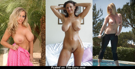 Image. Naked wonderful girl with natural breast picture