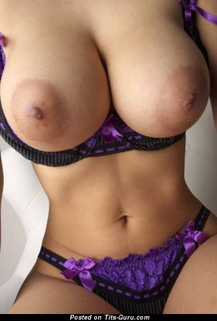 Gorgeous Honey with Gorgeous Naked Humongous Boobys (18+ Image)