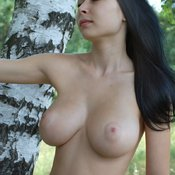 Wonderful girl with big natural tittys image