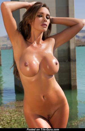 Kirstin Photodromm - Sweet Undressed Brunette Babe (Hd 18+ Image)