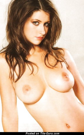 Image. Katie Marie Cork - sexy nude brunette with big breast picture