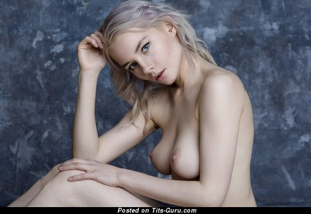 Image. Blonde with medium tittys picture