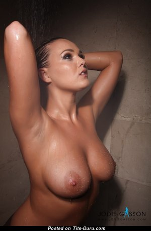Image. Jodie Gasson - naked amazing lady with big natural tittys pic