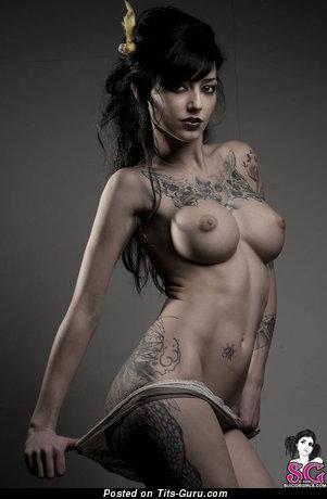Wonderful Gal with Wonderful Naked Round Fake Great Boobie (Hd Xxx Pic)